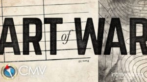 """Grey and white background of old map and form with text overlay: """"Are of War"""""""