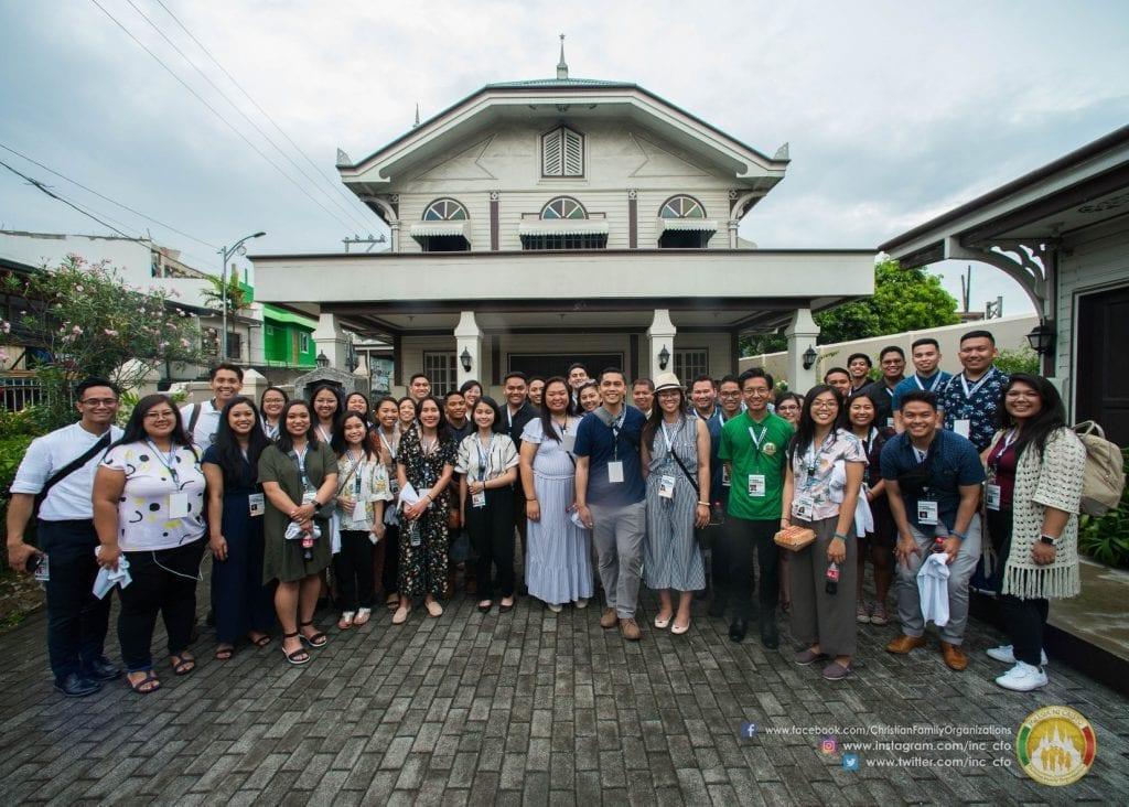 Group of youth at Punta Santa Ana Philippines