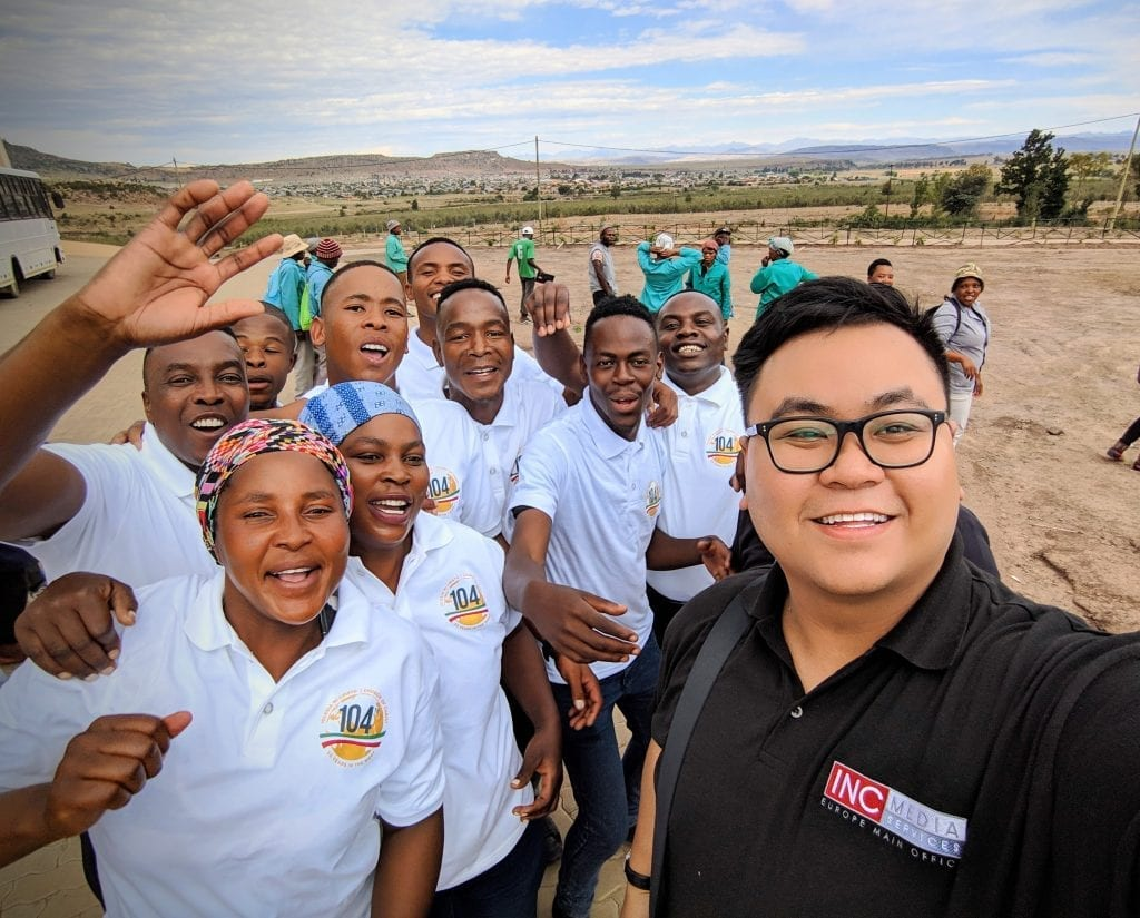 When the crew met Poloko in 2017, he was already on the right path-- deeply involved in the Church Of Christ and working hard for a successful future. But that wasn't always the case for Poloko.   During  the crew's recent trip to South Africa, they learned more about Poloko's rough past and what he had to do just so he could eat.   Today, Poloko's life is filled with purpose and has become a walking example of a life touched by the words of God.